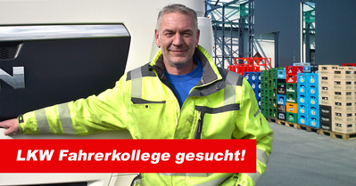 LKW Fahrer gesucht - arbeite für Getränke Reichle!
